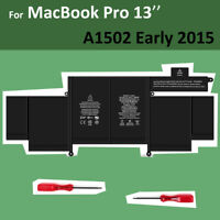 """Genuine OEM A1582 A1502 Battery for Apple MacBook Pro Retina 13"""" Early 2015 NEW"""
