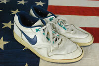 Vintage 90s Nike Return AC Tennis Shoes SNeakers White Mens