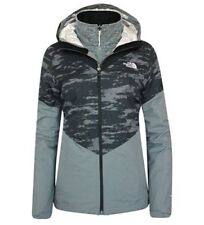 The North Face Womens Aryi 3-in-1 Triclimate Jacket Coat Grey Size XS Fit Girls