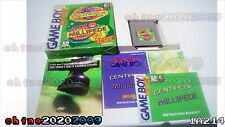Arcade Classic 2 Centipede Millipede Nintendo Game Boy with Box and Manual!