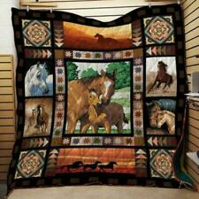 Horse Collection Version 2 Fleece Blanket 50x60x80 Printed in Us Soft