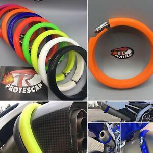 Motorrad Auspuffschutz Protektor Supermoto Schalldämpferschutz Top Qualität - M