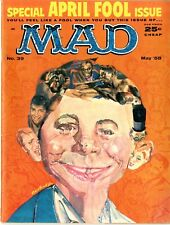 Mad    #39   FINE   May 1958   Special April Fool Issue