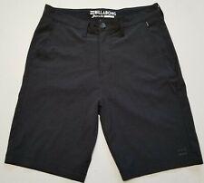 Billabong Submersibles 4 Way Stretch Dark Gray Hybrid Board Shorts Mens Size 31