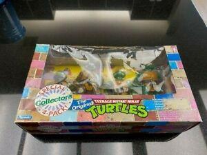 1992 The Original Teenage Mutant Ninja Turtles Figures 4-Pack Playmates  Action!