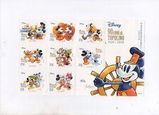 foglietto 8 francobolli 2017 -90 anni di topolino