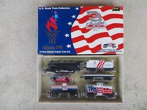 Dale Earnhardt Sr. #3 Olympics 1996 Revell 1:64 Scale H.O. Diecast Train Set