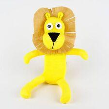 Handmade Yellow Sock Monkey Lion Stuffed Animals Doll Baby Gift Toy