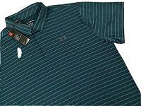 NWT UNDER ARMOUR Men's Performance POLO Shirt Heat Gear Golf Blue Green 3XL 3X