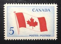 Canada #439 MNH, Canadian Flag Stamp 1965