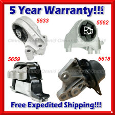 M705 Fits 2012-2015 Chevrolet  Captiva Sport 2.4L Engine Motor & Trans Mount Set