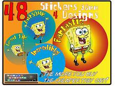 48 Teacher Reward Stickers 30mm Mix Well Done Good Work School Praise