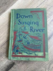 Vintage Down Singing River hardcover Book 1965 Basic Reader 2nd Grade like NEW
