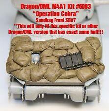 "1/35 Sherman Sandbag Front ""SB7"" Value Gear- For Dragon (Op Cobra) M4A1 Kit#6083"