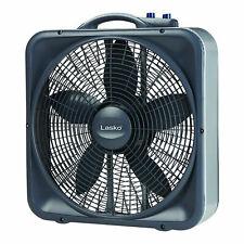 Lasko Weather-Shield Select Box Fan - Black