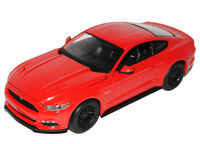 Ford Mustang VI Coupe Rot Ab 2014 1/18 Maisto Modell Auto mit oder ohne indivi..