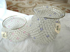 VNTG Bath & Body Works Wire Beaded Metal Candle Holder YOU CHOOSE BNWT