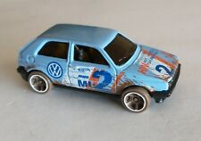 Hot Wheels 2020 Mystery Models Series 3 #2 Volkswagen Golf MK2 Blue Safari Rally