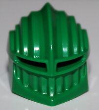 LeGo Castle Rascus Green Fanciful Minifig Green Helmet w/ Visor NEW
