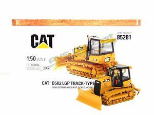 Cat Caterpillar D5K2 LGP Track-Type Tractor 1/50 Scale Diecast Masters 85281