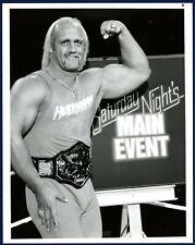 1985 HULK HOGAN Original TYPE 1 Press Photo NBC Promotional ! WWF HOF ! WOW 🔥