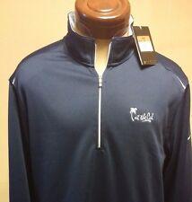 """NWT NIKE """"Dri-Fit"""" Zipper Golf Jacket Size L"""