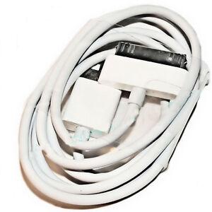 Apple USB  Datenkabel  Ladekabel MA591G/B  30 Pin für  iPhone 3 3G - 3Gs