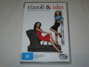 Rizzoli And Isles - Complete Season 2 - 3 Disc Set - VGC - Region 4 - DVD