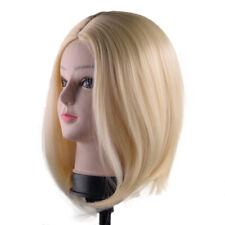 Women Ladies Short Straight Hair Wigs Bob Style Cosplay Full Wigs
