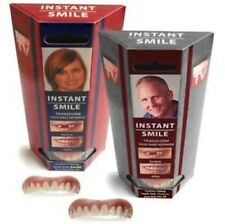 Instant Smile Teeth TOP Medium Dr. Bailey's False Cosmetic Fake Oral Deluxe