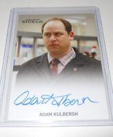 AGENTS OF SHIELD SEASON 2 Adam Kulbersh AUTOGRAPH TRADING CARD Regular