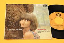 "SANDIE SHAW 7"" DOMANI 1°ST ORIG ITALY 1966 EX TOP RARE COLLECTORS"