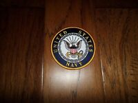 "NEW U.S.MILITARY NAVY EMBROIDERED PATCH UNITED STATES NAVY 4"" X 4"" FULL COLOR"