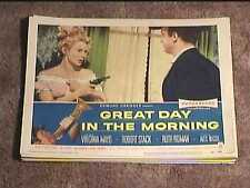 GREAT DAY IN THE MORNING 1956 LOBBY CARD #1 WESTERN