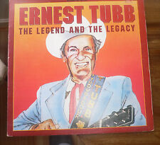 VARIOUS ARTISTS *  ERNEST TUBB The LEGEND & LEGACY  *  (1979)  VINYL   LP *  EXC