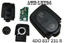 Schlüssel Sendeeinheit Gehäuse für Audi 2Tasten ersetzt 4D0837231R 4D0837231 A32