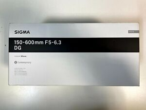 Sigma 150-600mm f/5-6.3 DG OS Contemporary Lens for Canon DSLR Cameras