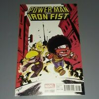 Power Man And Iron Fist #1 2016 Marvel Comics Skottie Young Variant