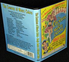 THE COUNTESS OF MONTE CRISTO - DVD - Sonja Henie