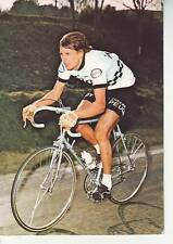 CYCLISME carte PATRICK BEON  (equipe peugeot michelin esso 1976)
