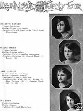 1924 Mansfield OH High School Yearbook~History~Photos