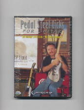 LEARN GUITAR PEDAL STEEL LICKS LESSON *NEW DVD