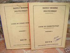 Cours de chimie pratique et générale 1963