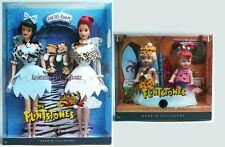 The Flintstones Barbie Doll Wilma Betty Pebbles Bamm Bamm Kelly Tommy VG Lot 2