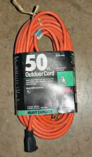 EXTENSION CORD 50FT 14-3 SJTW 15A 125V 1875W Heavy Duty 03356 CAROL Outdoor NEW