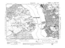 1910-1919 Date Range Antique Europe Sheet Maps