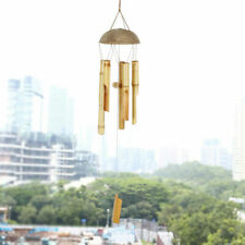 Bamboo Wind Chime Wall Hanging Bell Tube Home Ornament Outdoor Garden Decor