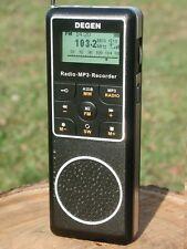 ricevitore degen de1127 registratore vocale lettore mp3 ricevitore hf bl-5c