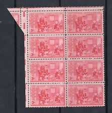 US # 1004 (1959) 3c- 'Betsy Ross' EFO: Fold over/Guttersnipe. Wow! Scarce!