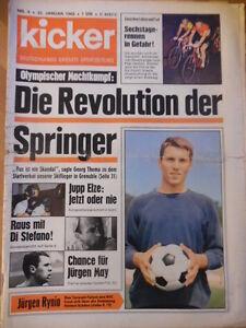 + KICKER 4 - 22.1. 1968 KSC-Aachen 2:4 Köln-Bayern 3:3 Di Stefano Eiskunstlauf